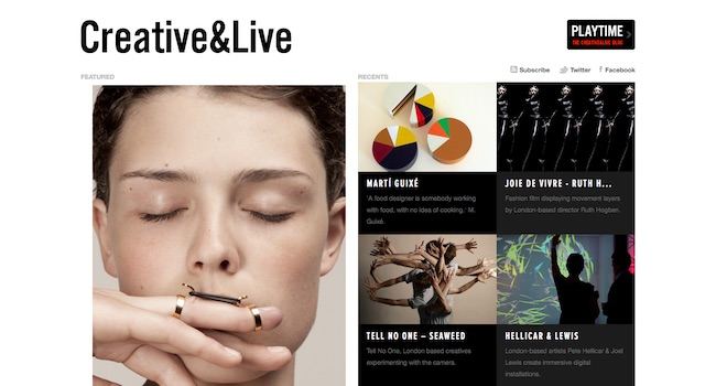 Creative&Live – Web magazine for creative people