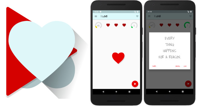 I Love – Play Store Game Application